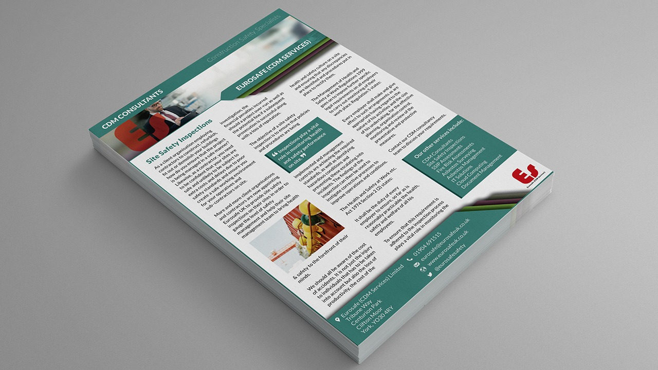 Flyer, Poster and Leaflet Design York